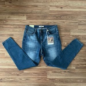 Cello High Waist Skinny Ankle Jeans